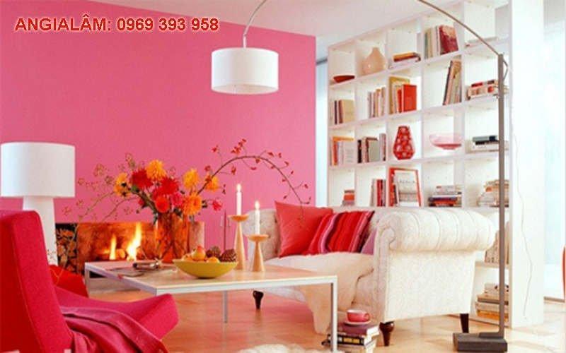 chọn màu sơn nhà cho người mệnh hỏa