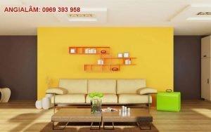sơn nhà màu vàng có đẹp không?