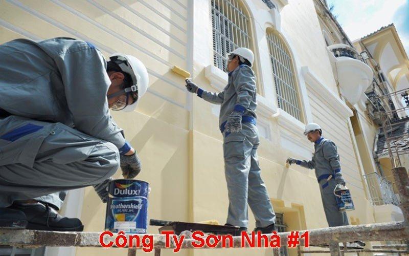 dịch vụ sơn nhà trọn gói tphcm