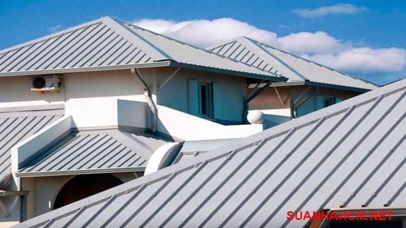 mái tôn nhà ống đẹp