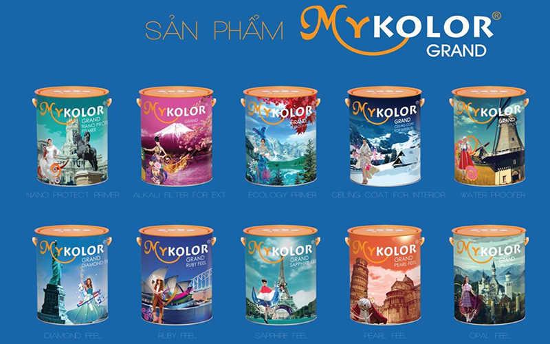 các hãng sơn nước nổi tiếng Mykolor