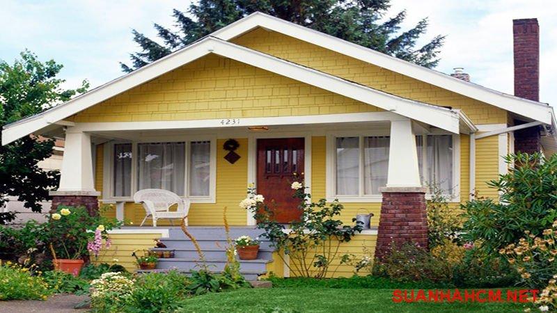 giá công sơn nhà