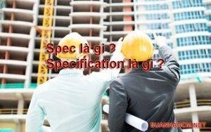 spec nghĩa là gì?