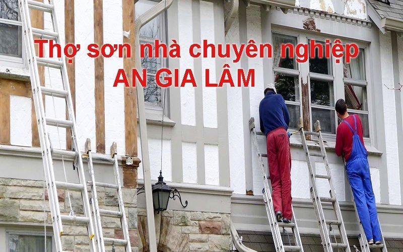 công thức tính m2 sơn nhà