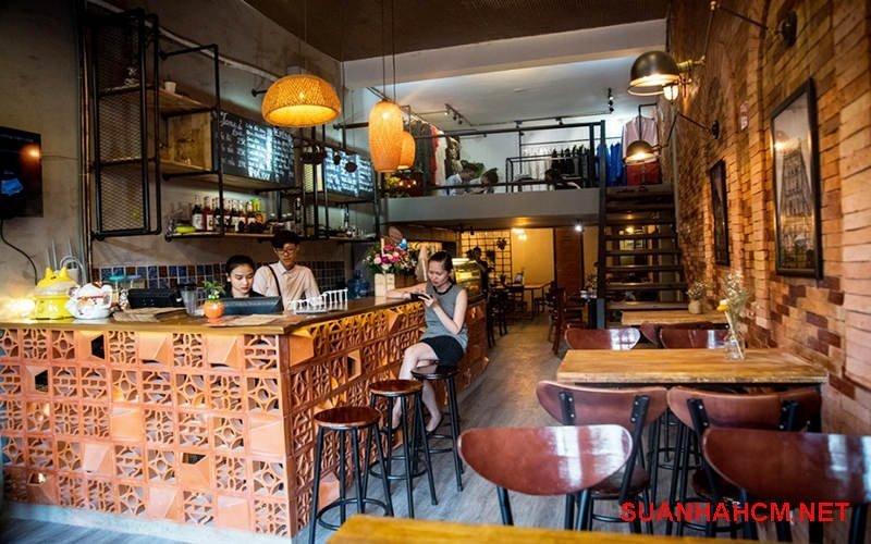 dịch vụ thi công trang trí quán cafe