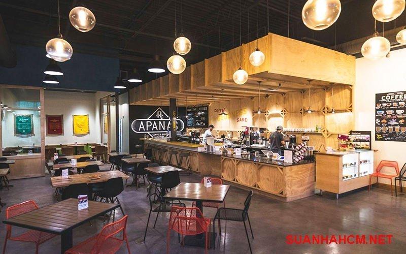 giá thiết kế quán cafe