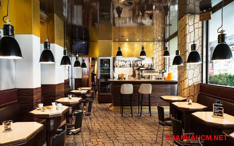 thiết kế quán cafe nhỏ giá rẻ tphcm