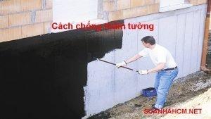 cách chống thấm tường