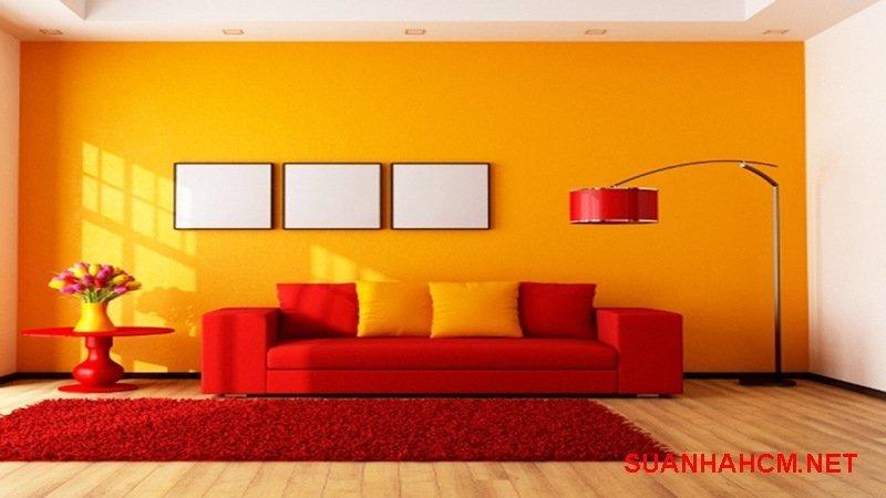 sơn tường trong nhà