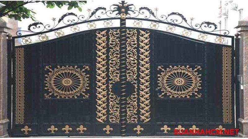 cổng nhà hiện đại