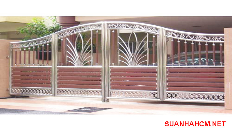 mẫu cổng inox 304 đẹp