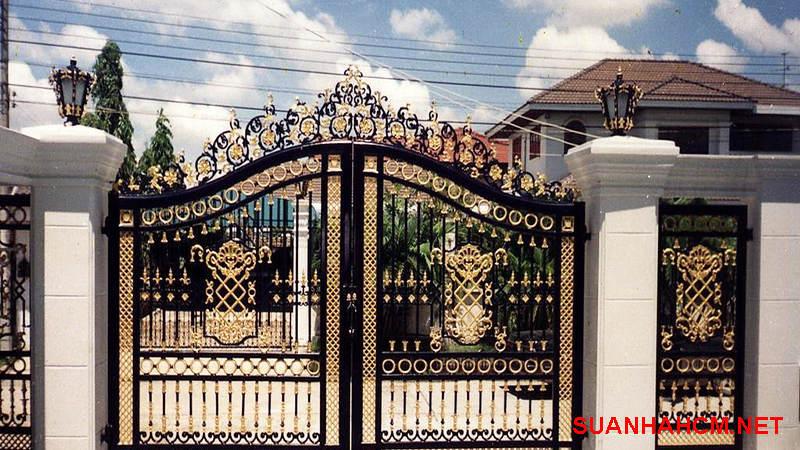 mẫu cổng nhà đẹp 2019