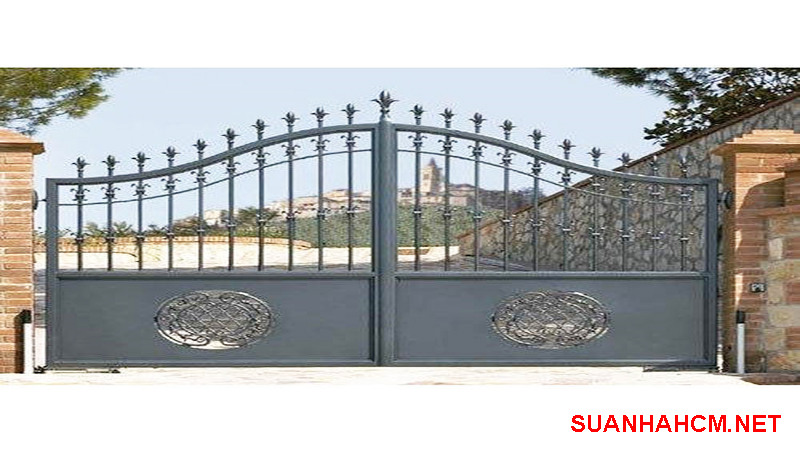 mẫu cổng nhà nông thôn