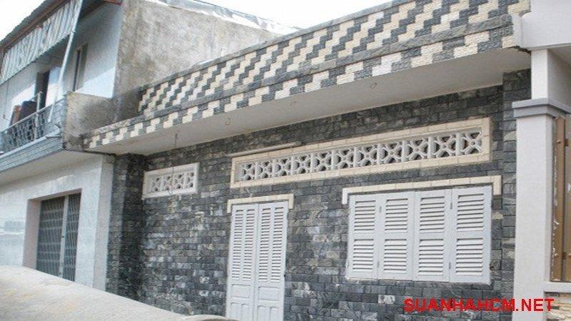 gạch giả đá ốp mặt tiền nhà đẹp