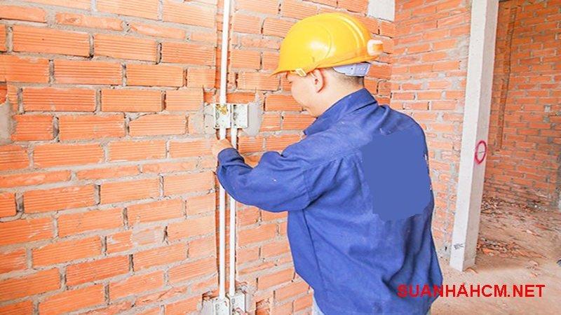 hướng dẫn đi điện âm tường nhà cấp 4