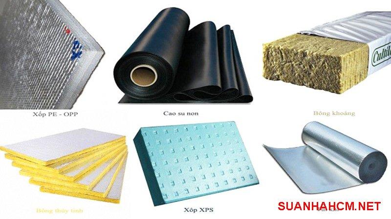 vật liệu cách nhiệt cho mái tôn