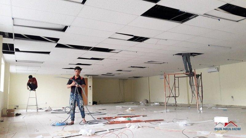 sửa chữa văn phòng giá rẻ tphcm