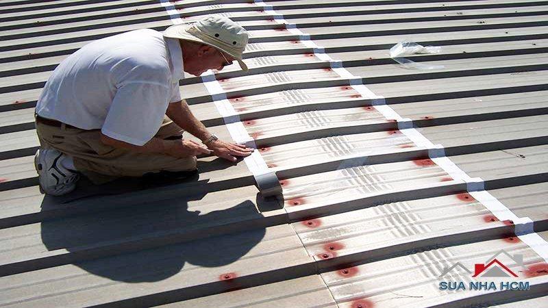mẹo chống dột mái tôn hiệu quả